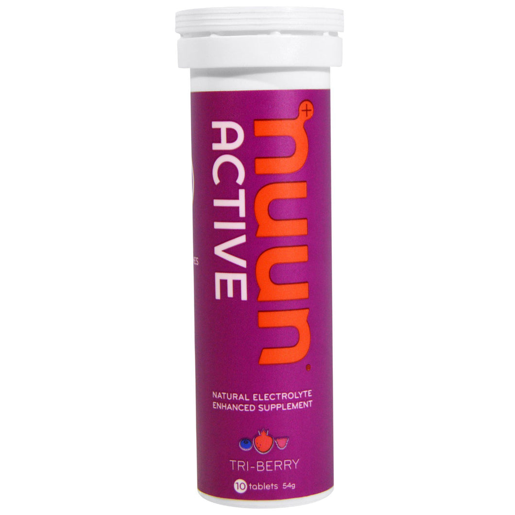 Nuun Active Electrolyte Supplement Tri-Berry (10 tablets)