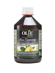 Olie Naturals New Beginnings Ginger Probiotic Drink (500ml)