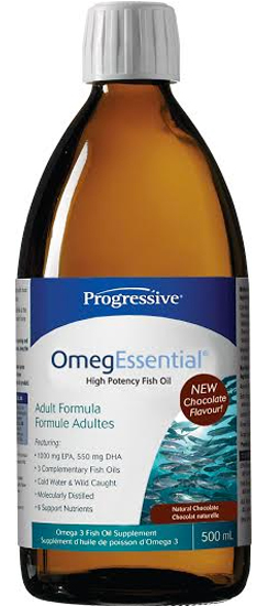 Progressive OmegEssential Fish Oil Chocolate (200ml)