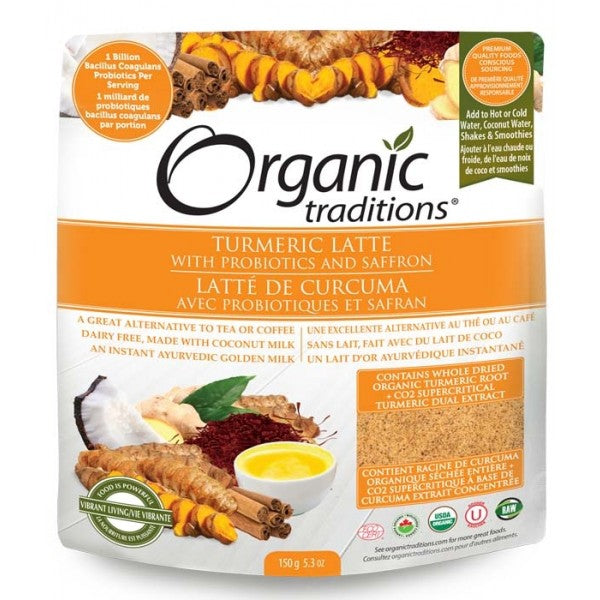 Organic Traditions Turmeric Latte (150g)