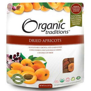 Organic Traditions Dried Apricots (227g)