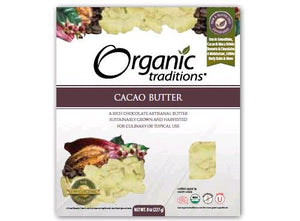Organic Traditions Cacao Butter (227g)
