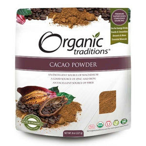 Organic Traditions Cacao Powder (227g)