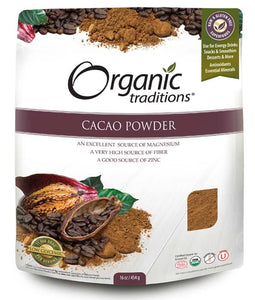 Organic Traditions Cacao Powder (454g)