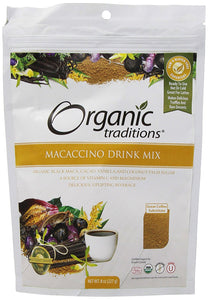 Organic Traditions Macaccino Drink Mix (227g)