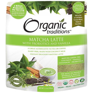 Organic Traditions Matcha Latte (150g)