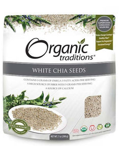 Organic Traditions White Chia Seeds (200g)