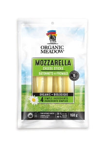 Organic Meadow Mozzarella Cheese Sticks (168g)