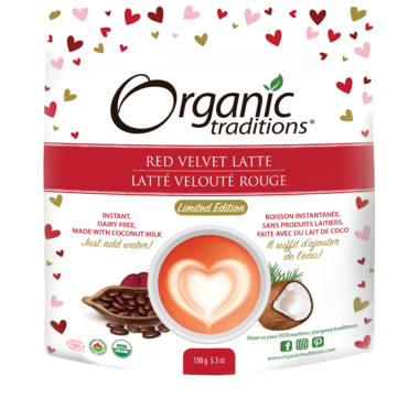 Organic Traditions Red Velvet Latte (150g)