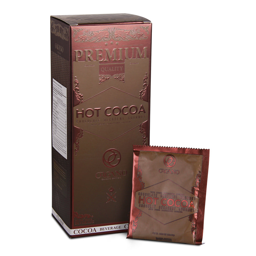 Organo Gold Gourmet Hot Chocolate (15 Sachets)