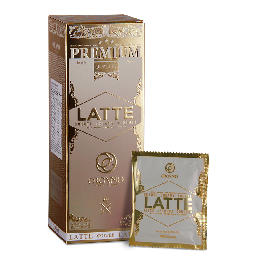 Organo Latte Coffee (20 Sachets)