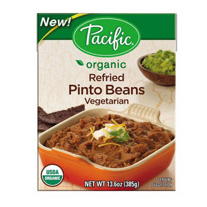 Pacific Organic Refried Pinto Beans Vegetarian (365ml)