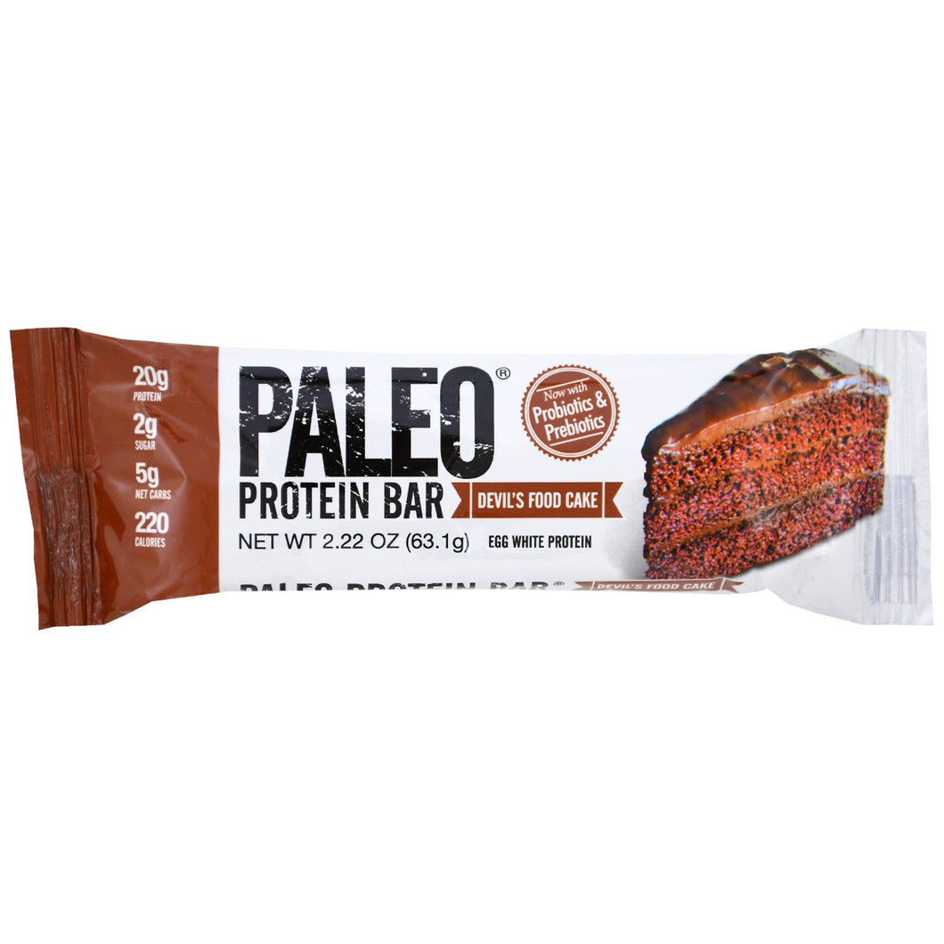 Paleo Protein Bar Devil's Food Cake (60g)