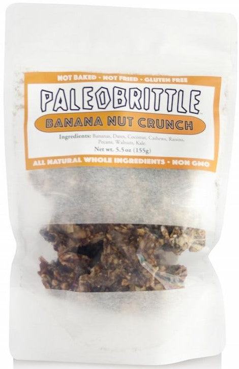 Paleobrittle Banana Nut Crunch (155g)
