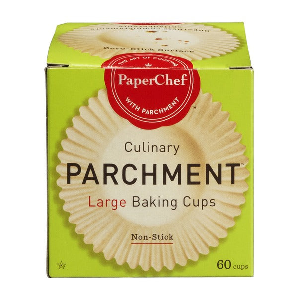 PaperChef Culinary Parchment Large Baking Cups (60)