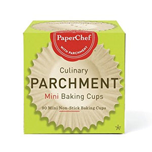 PaperChef Culinary Parchment Mini Baking Cups (90)