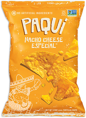 Paqui Nacho Cheese Tortilla Chips (155g)