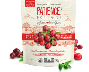 Patience Fruit & Co. Dried Cranberries (283g)