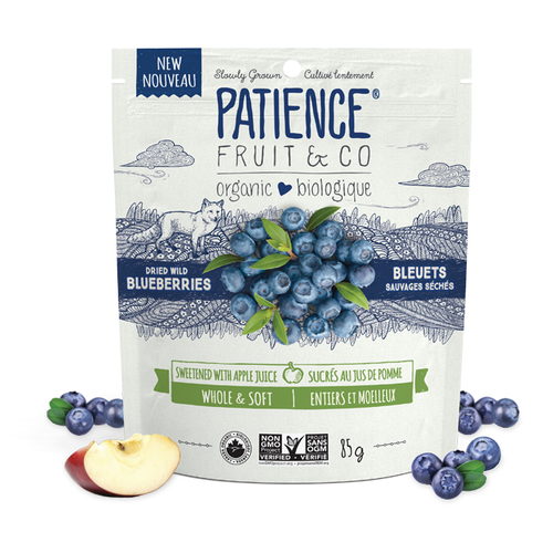 Patience Fruit & Co. Dried Wild Blueberries (85g)