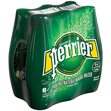 Perrier Carbonated Water 500ml (6/Pack)