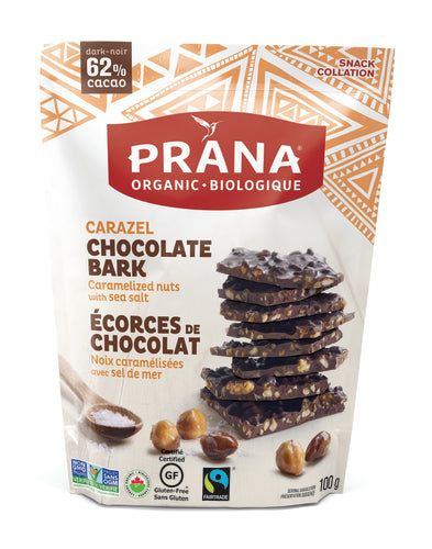 Prana Chocolate Bark Caramelized Nuts with Sea Salt (95g)