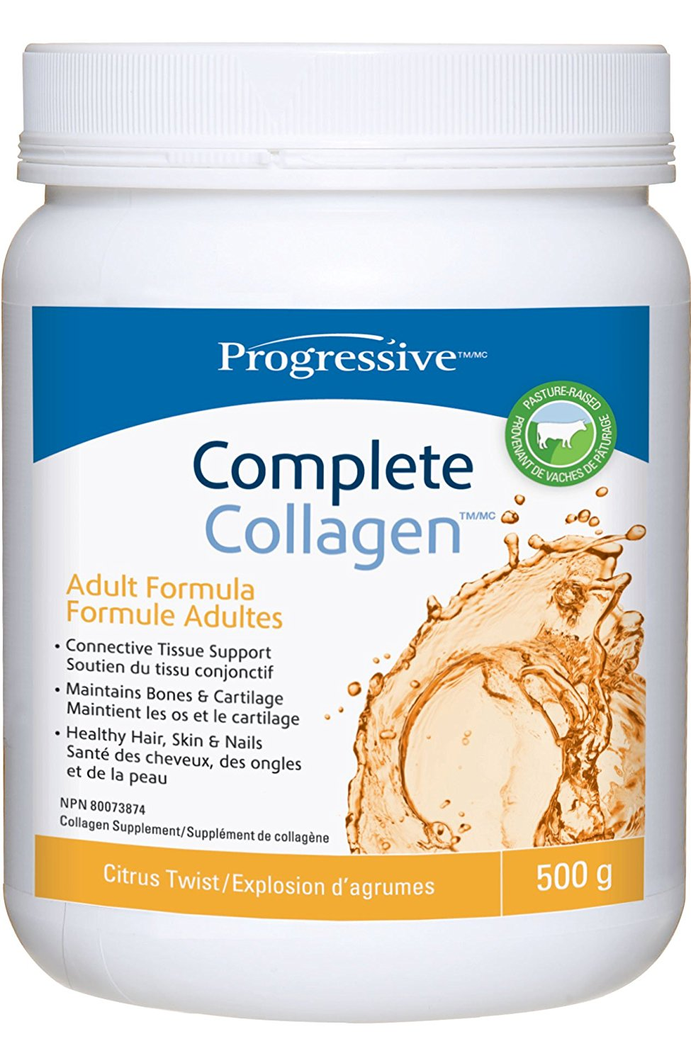 Progressive Complete Collagen Citrus Twist (500g)
