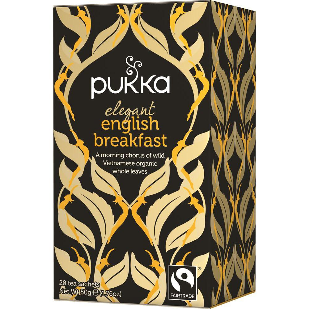 Pukka Elegant English Breakfast Tea (20 Bags)
