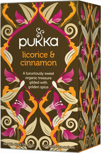 Pukka Licorice & Cinnamon Tea (20 Bags)