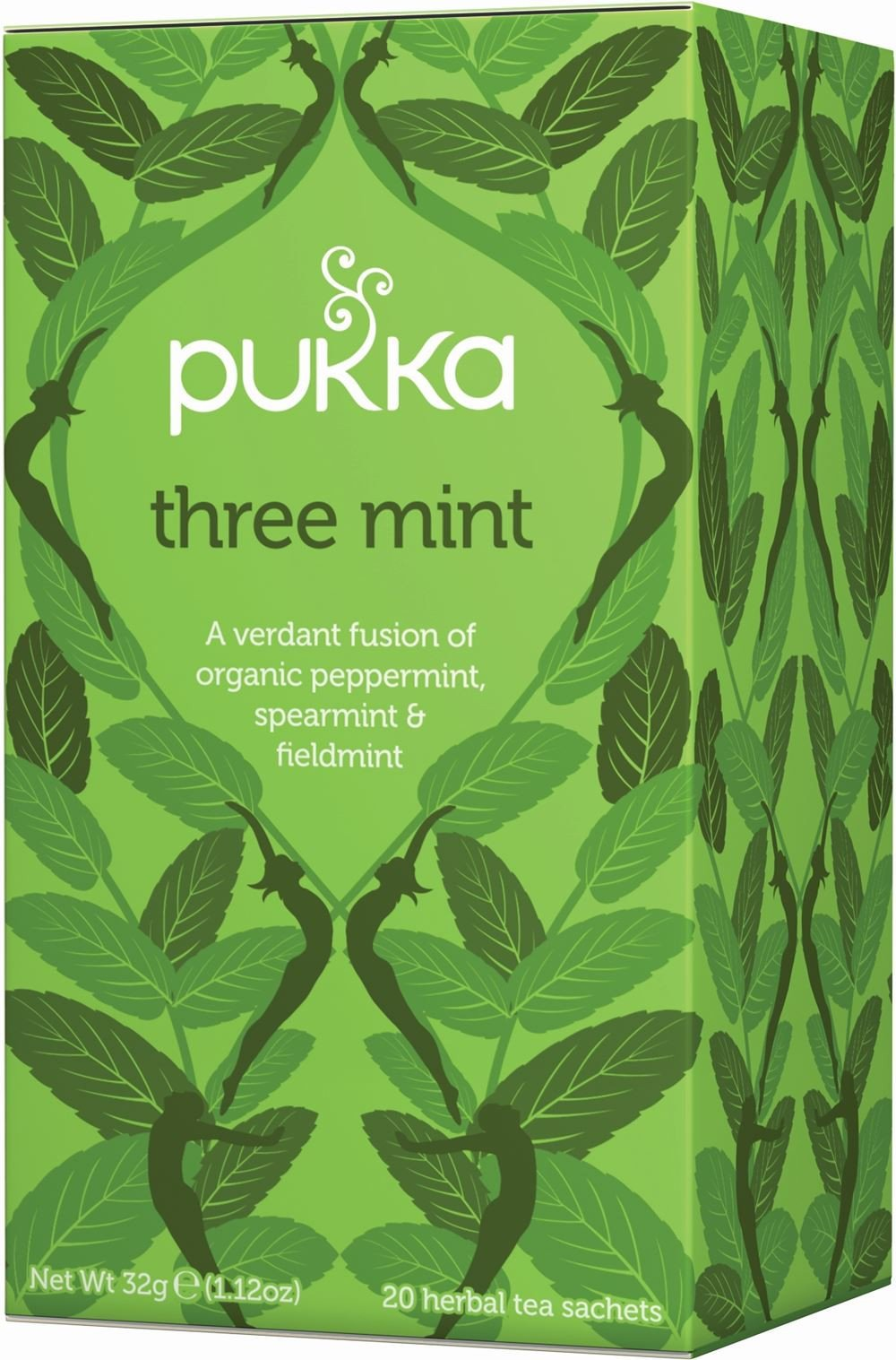 Pukka Three Mint Tea (20 Bags)
