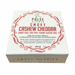 Pulse Kitchen Smoky Cashew Cheddar (100g)