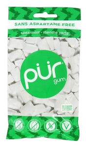 PUR Gum Spearmint (55 Pieces)