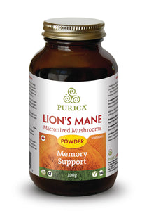 Purica Lion's Mane (100g Powder)