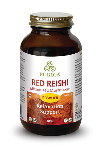 Purica Red Reishi (100g Powder)