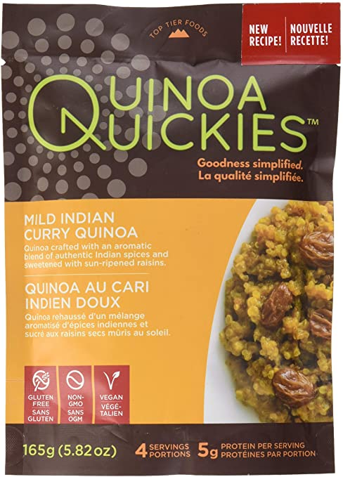 Quinoa Quickies Mild Indian Curry Quinoa (165g)