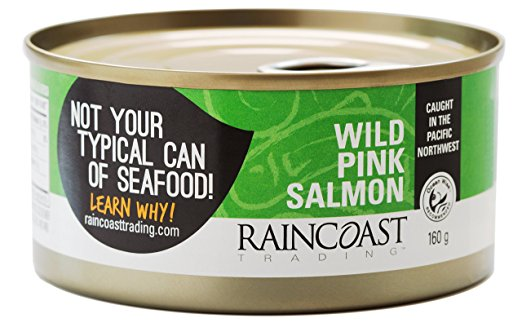 Raincoast Wild Pink Salmon (160g)