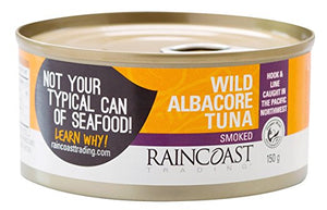 Raincoast Smoked Albacore Tuna (150g)