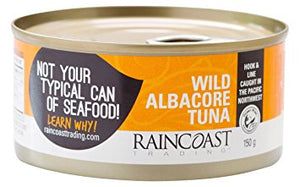 Raincoast Wild Albacore Tuna (150g)