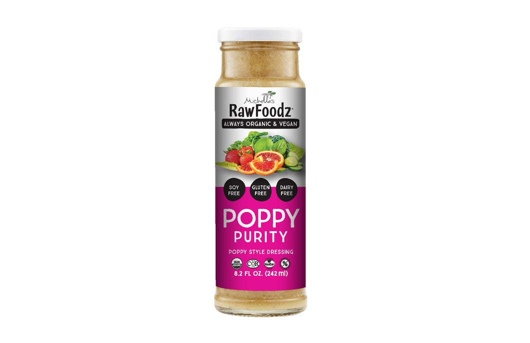 RawFoodz Poppy Purity Dressing (250ml)