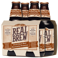 Real Brew Draft Root Beer (4 Pack)