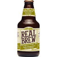 Real Brew Ginger Ale (355ml)