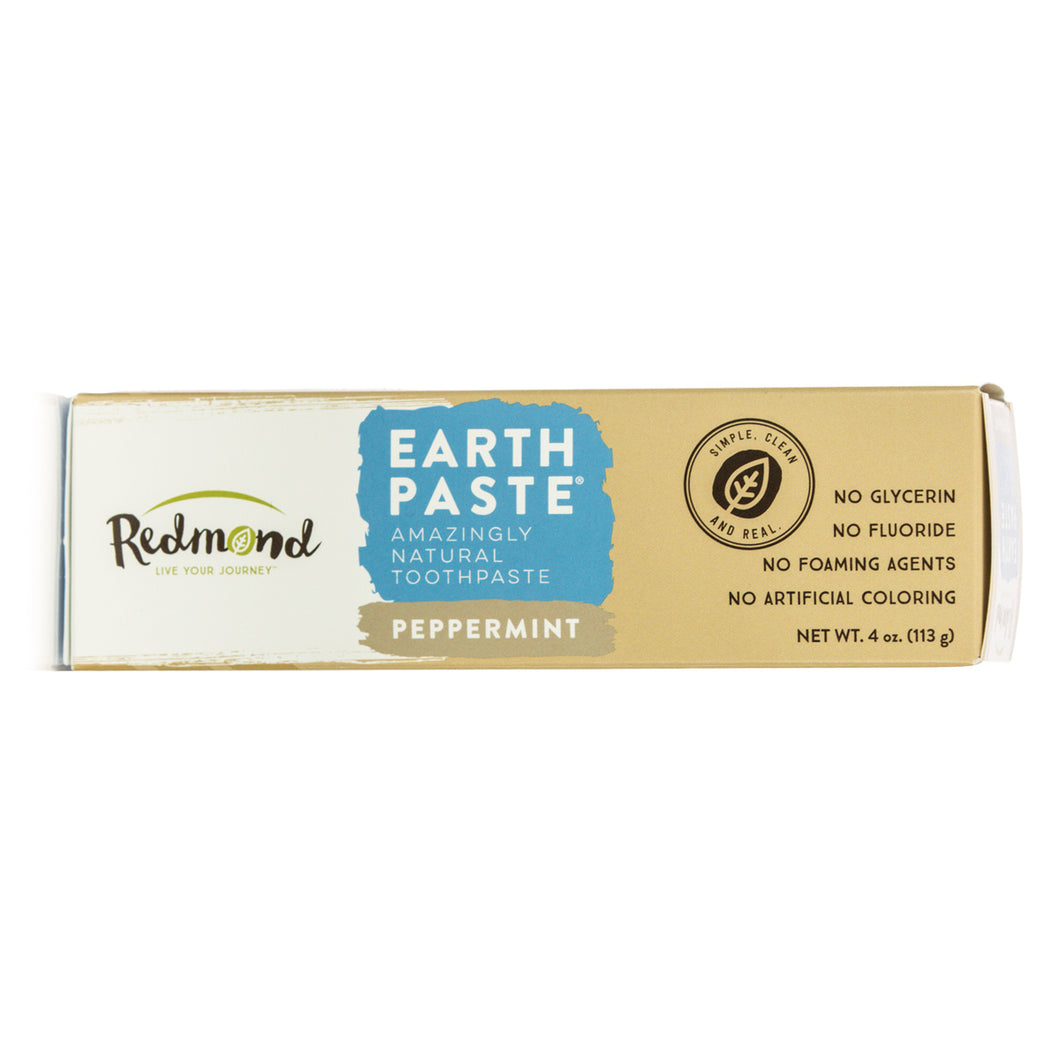 Redmond Earthpaste Peppermint Toothpaste (113g)