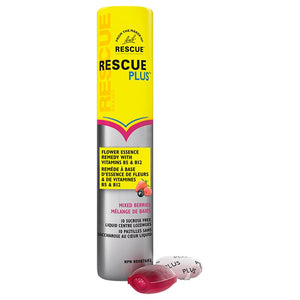 Bach Rescue Plus Liquid Centre Lozenges Mixed Berries (10/Pack)