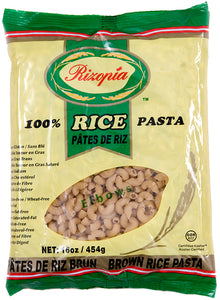 Rizopia Brown Rice Elbows Pasta (454g)