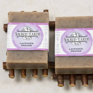 Sacred Earth Lavender Orange Soap