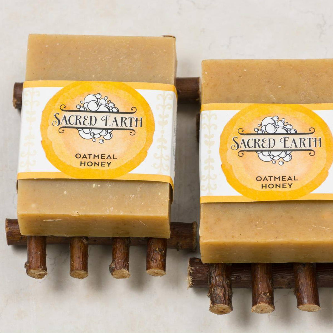Sacred Earth Oatmeal Honey Soap