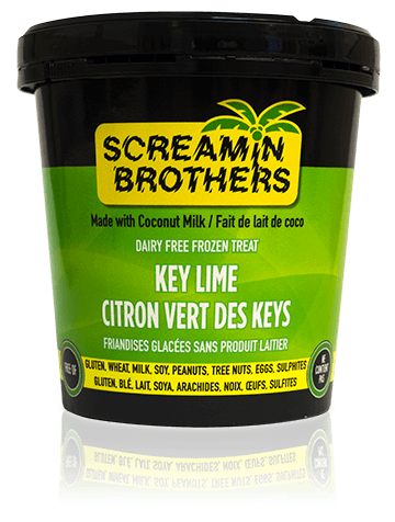 Screamin Brothers Dairy Free Key Lime Ice Cream (473ml)
