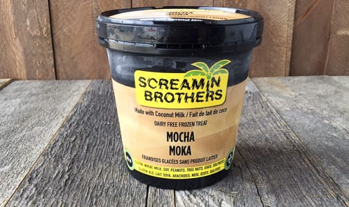 Screamin Brothers Dairy Free Mocha Ice Cream (473ml)