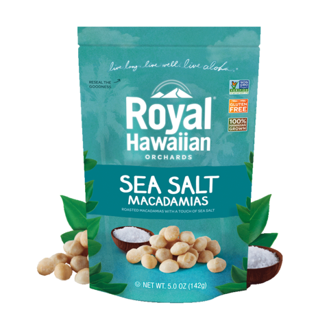Royal Hawaiian Sea Salt Macadamias 142g