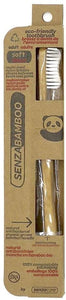 SenzaBamboo Eco-Friendly Toothbrush Adult Soft (1/Pack)