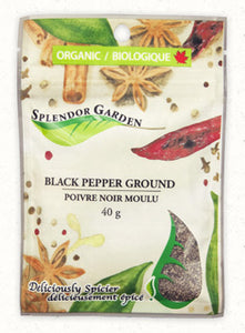 Splendor Garden Black Pepper Ground (40g)
